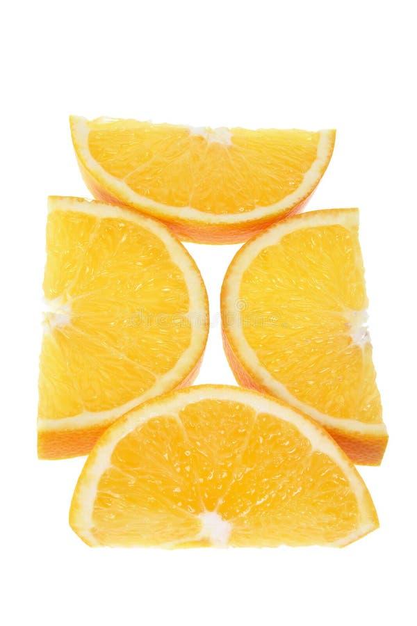 Download Orange skivor fotografering för bildbyråer. Bild av naturligt - 19789759
