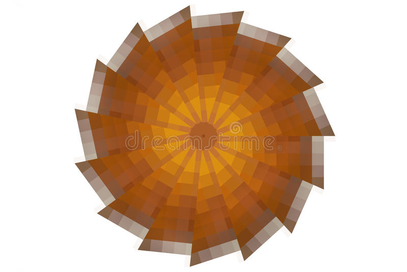 Download Orange Slice Abstract stock illustration. Image of abstract - 26309822
