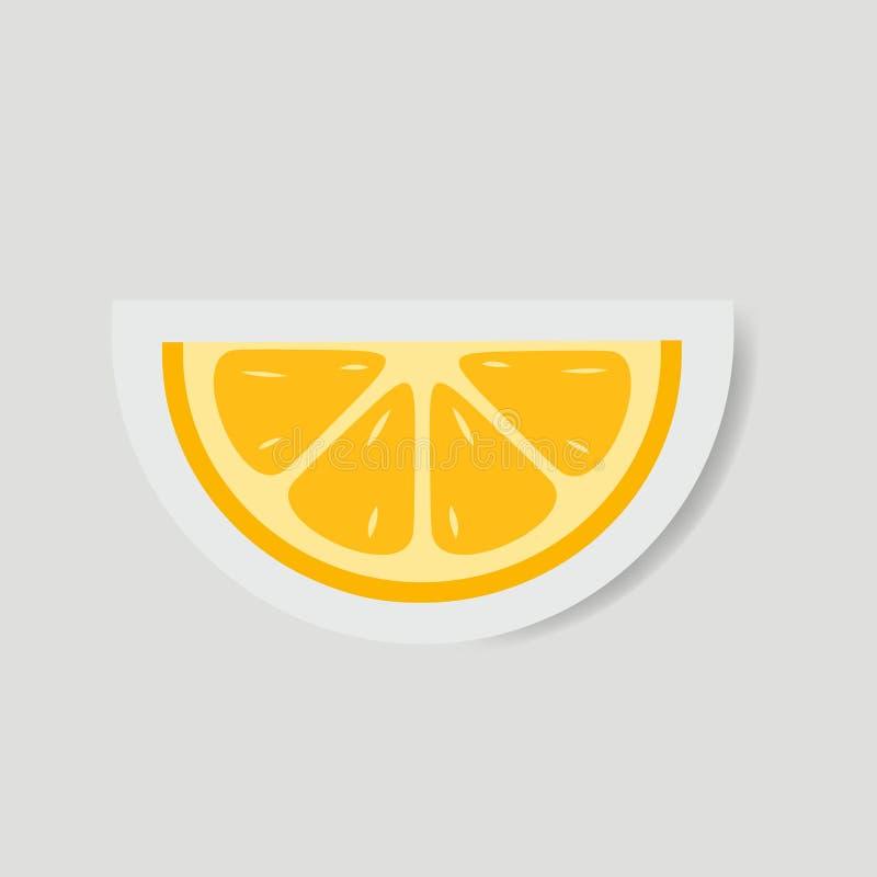 Free Orange Slice Vector, Paper Art Illustration Stock Photography - 172366302