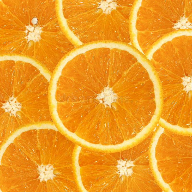 Free Orange Slices Royalty Free Stock Images - 18379279