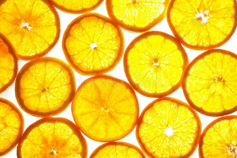 Download Orange Slices Pattern On White Background Stock Image - Image: 24836957