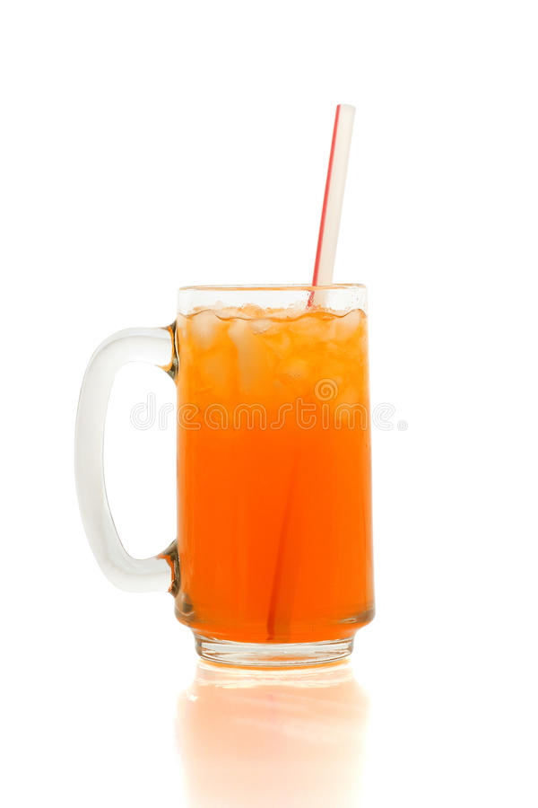 Orange Soda stockbild