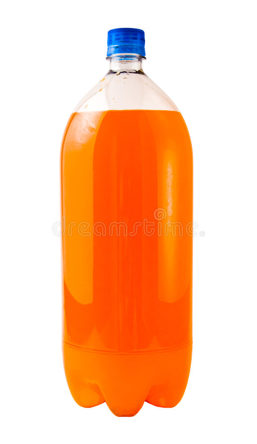 Orange Soda royalty free stock image