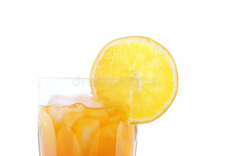Download Orange Soda In Glass With Slice Of Orange On Rim Stock Image - Image: 19244623