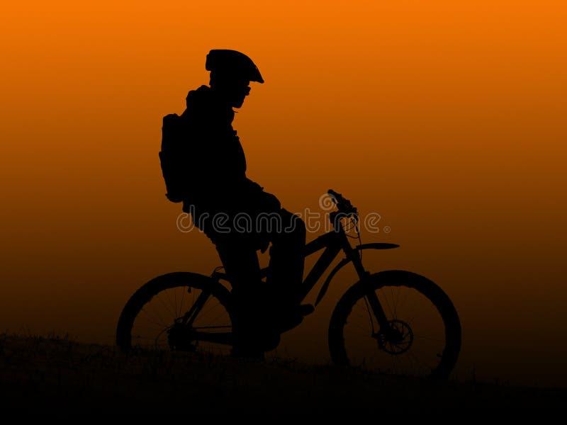 orange soluppgång royaltyfria foton