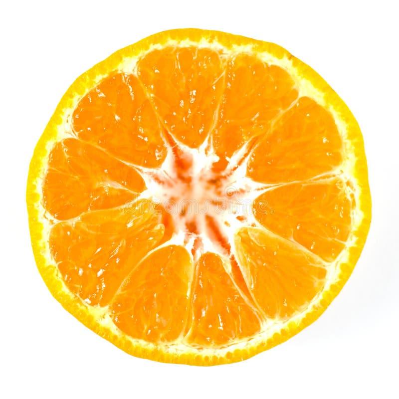 Orange sondern Sie geschnitten aus stockfotografie