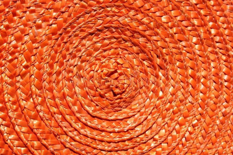 Orange Sonne stockfotografie