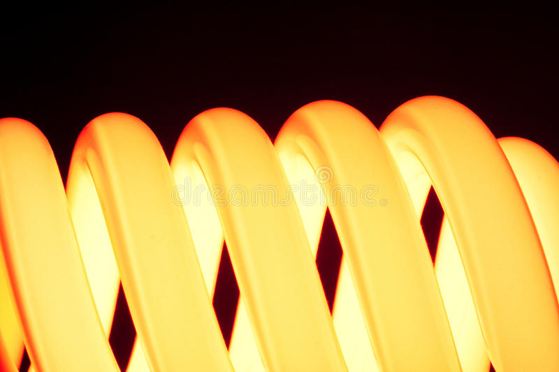Orange Spirale stockbild
