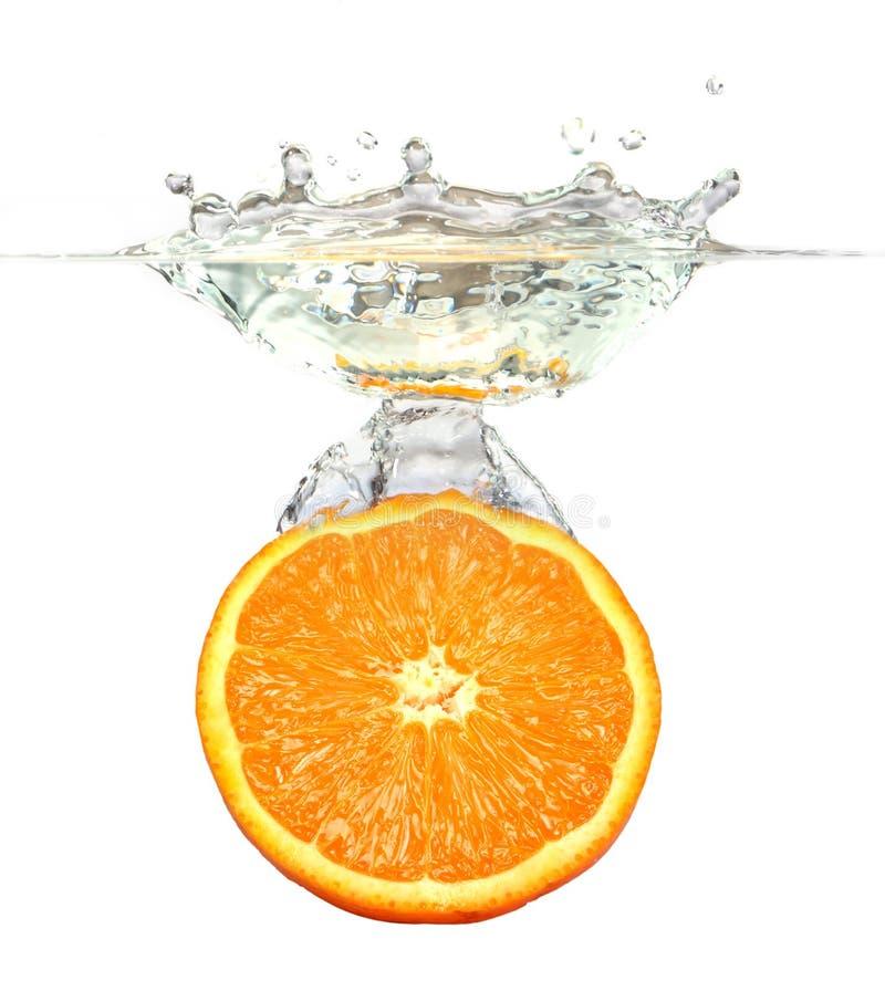Free Orange - Splashing Water Royalty Free Stock Images - 11152919