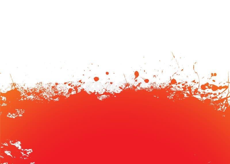 Orange splat band