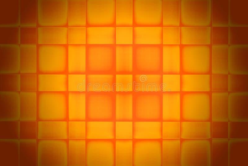 Orange Square Texture stock image