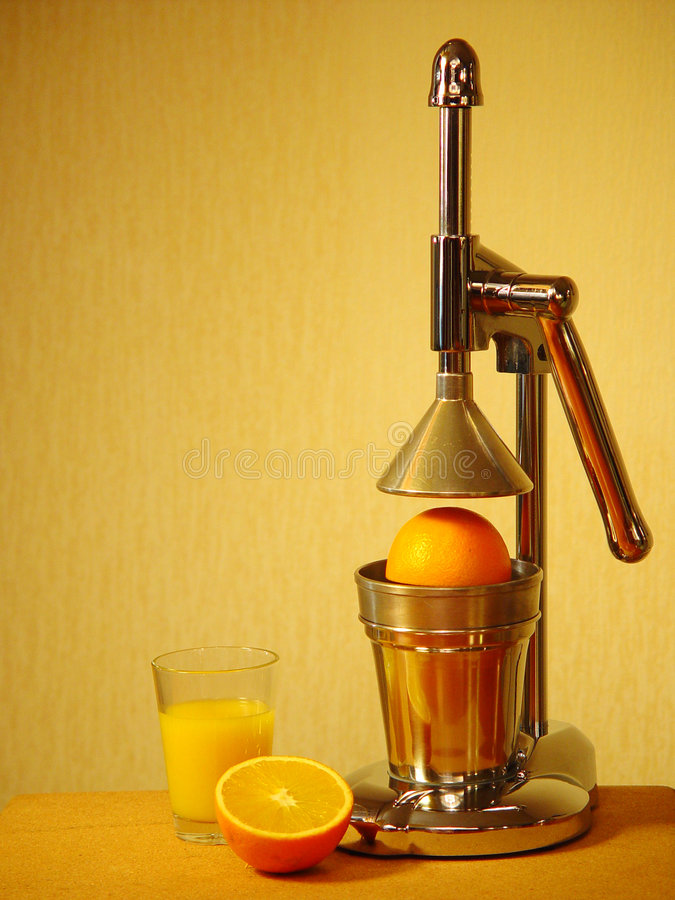 Download Orange squeezer stock photo. Image of still, glass, drink - 15444