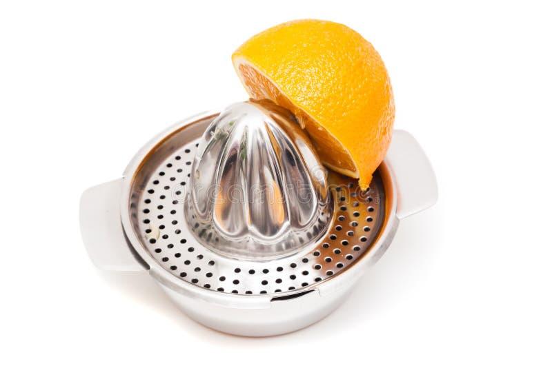 Orange Squeezer / Citrus Juicer. Shot of Orange Squeezer / Citrus Juicer stock photography