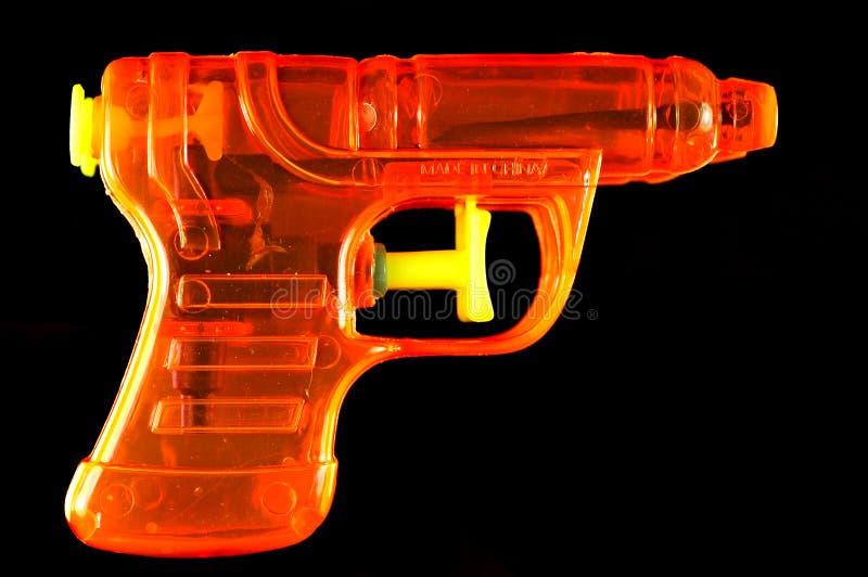 Download Orange Squirt Gun stock image. Image of single, luminosity - 2306703