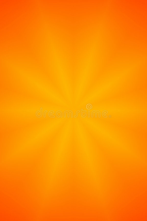 Orange Star Abstract Background. Orange Star Faded Abstract Background