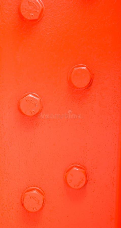 Download Orange steel beam stock image. Image of join, five, orange - 3301135