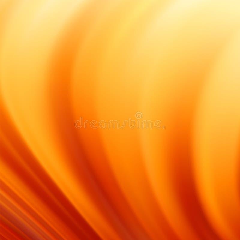 Orange Strudelhintergrund. ENV 8 lizenzfreie abbildung