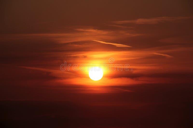Orange Sun During Sunset Free Public Domain Cc0 Image