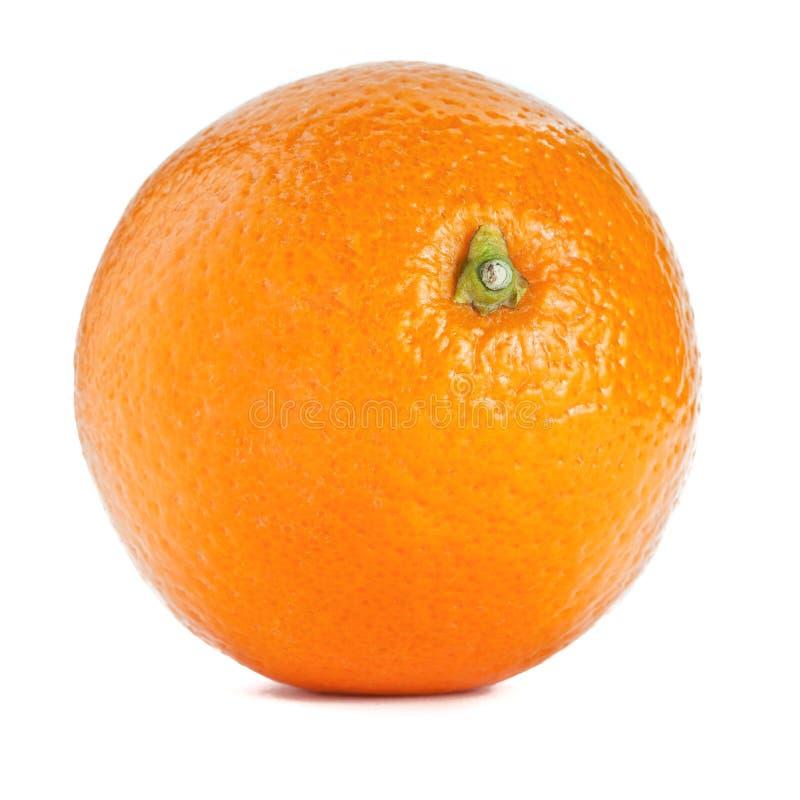 Orange sur le fond blanc d'isolement photo stock