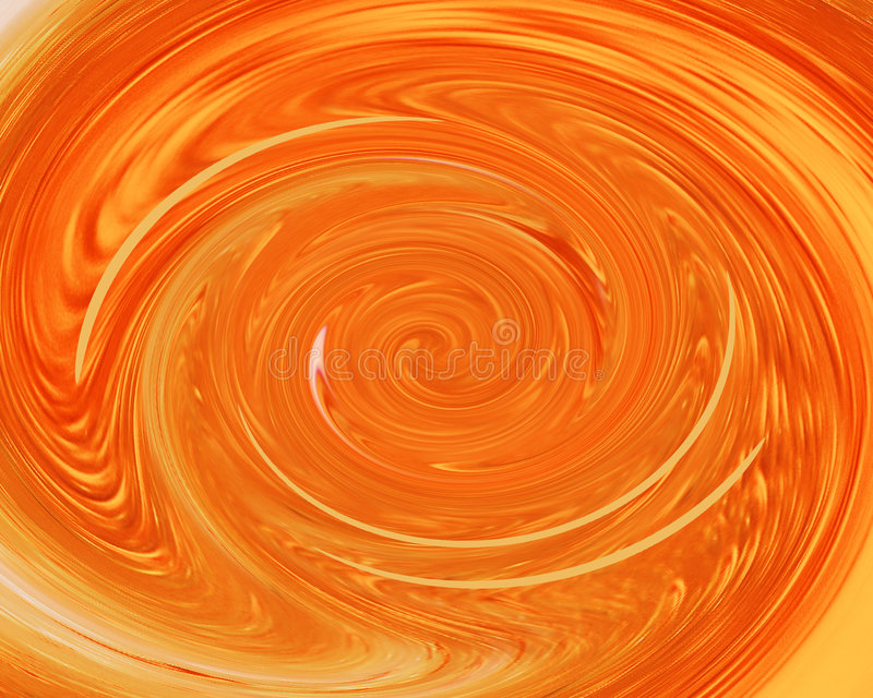 orange swirl stock illustrationer