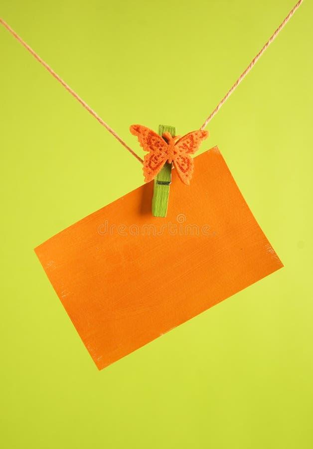 Download Orange Tag Royalty Free Stock Photos - Image: 23443888