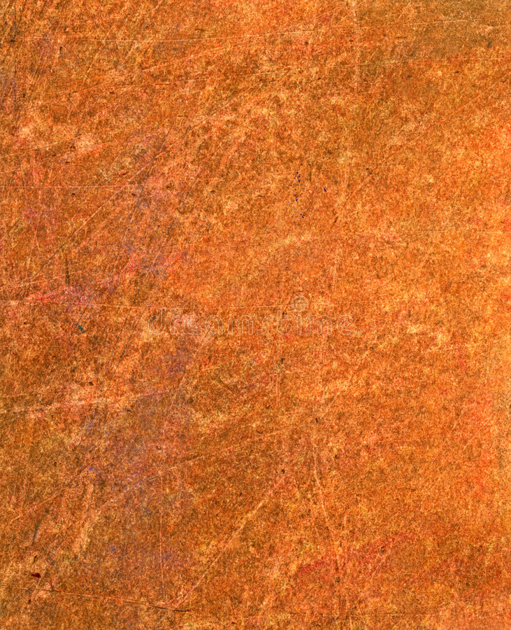 Orange texture. Earthy texture created using mixed media royalty free stock images