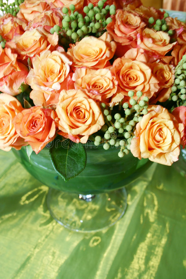 Orange thai roses 007 stock images