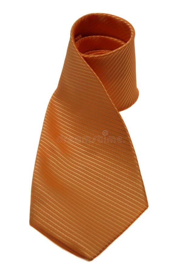 Orange Tie Royalty Free Stock Photography
