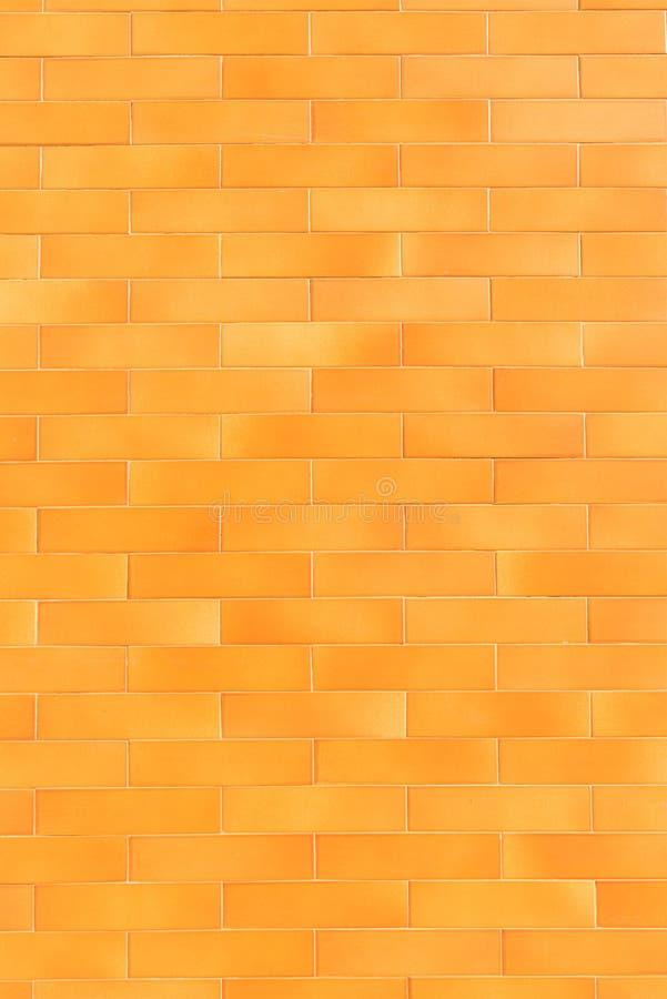 Orange tiled background stock photo