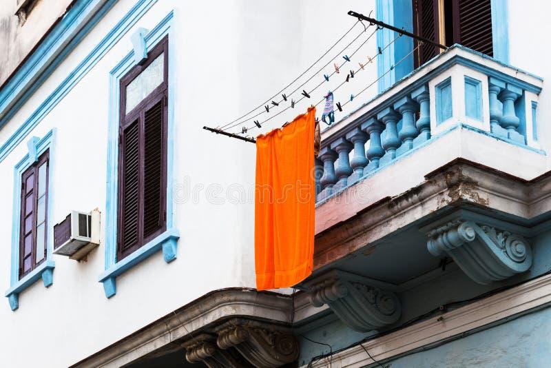 Orange Towel Stock Photography