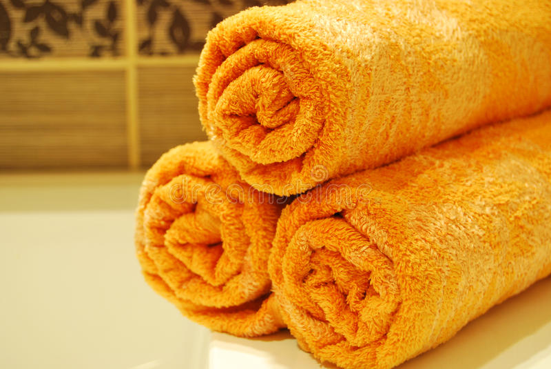 Download Orange Towels Stock Photos - Image: 10606713