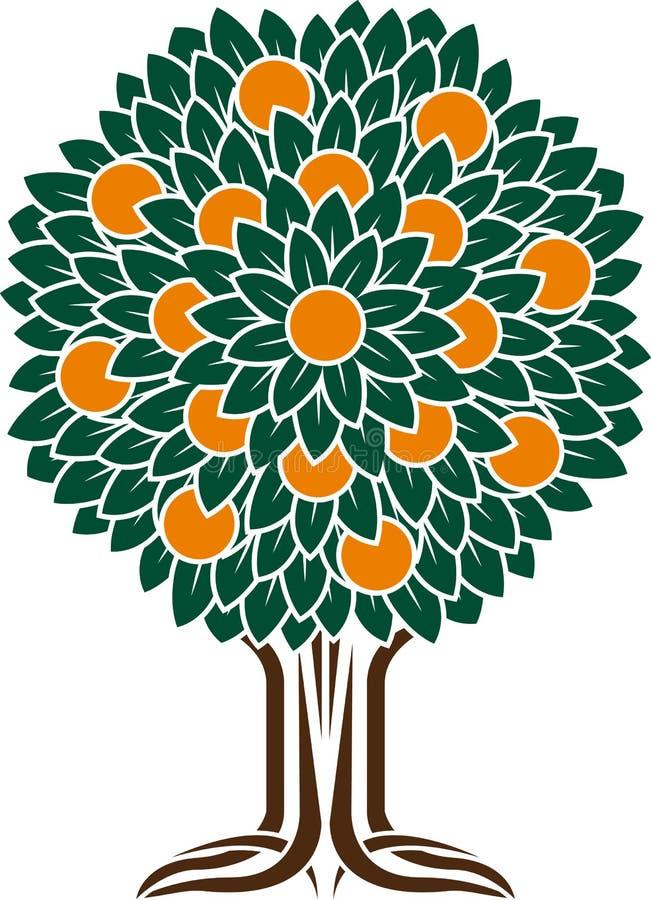 Free Orange Tree Stock Photography - 39152642