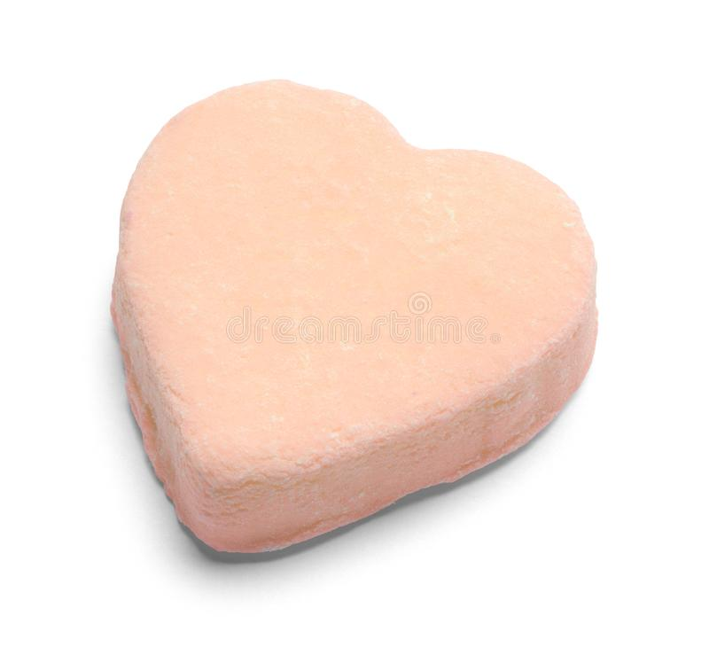 Free Orange Valentines Candy Heart Royalty Free Stock Photos - 153390338