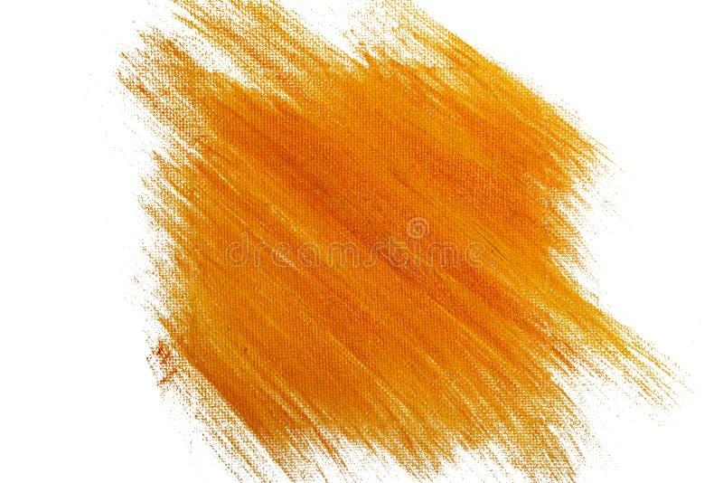 Orange vattenfärgbakgrund arkivbild