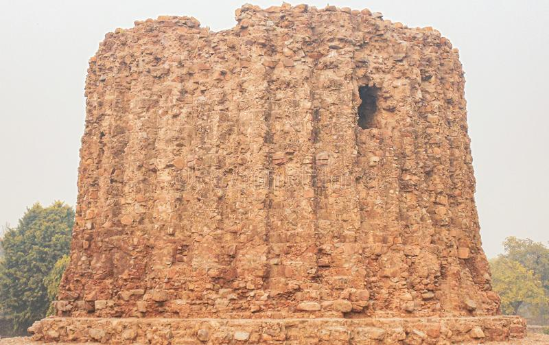 Qutub Minar tower in Delhi, India royalty free stock images