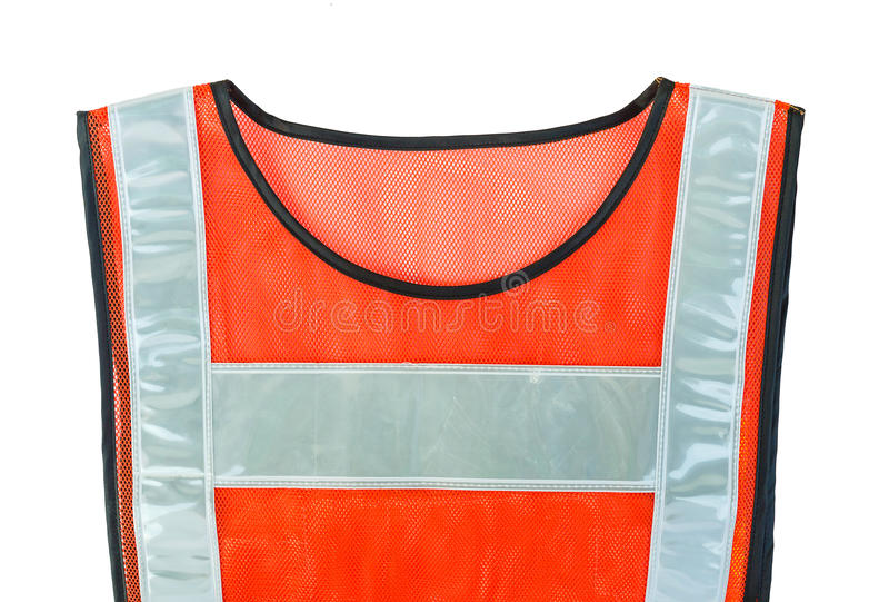 Download Orange vest stock photo. Image of sleeveless, save, orange - 30405080