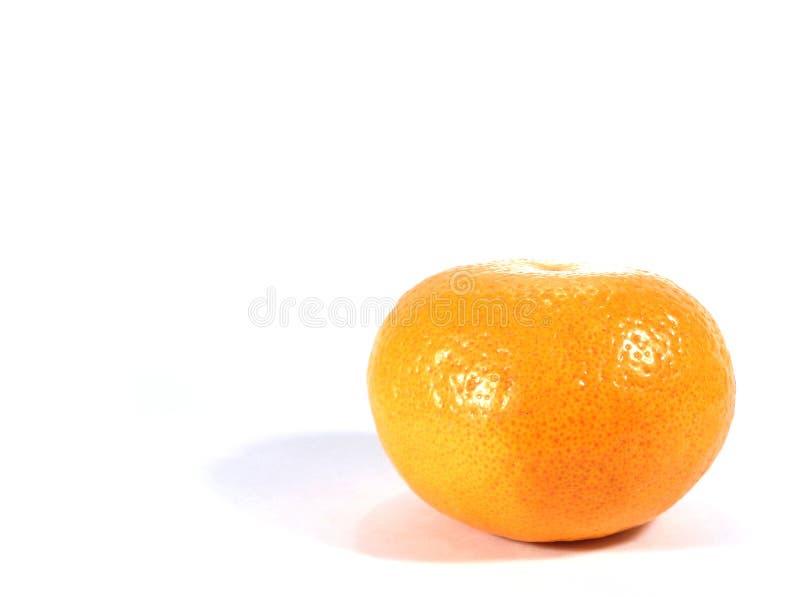 Orange vive mûre de couleur d'isolement sur le fond blanc images stock
