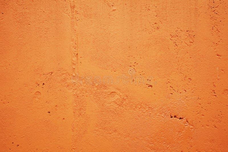 Orange Wand stockfoto