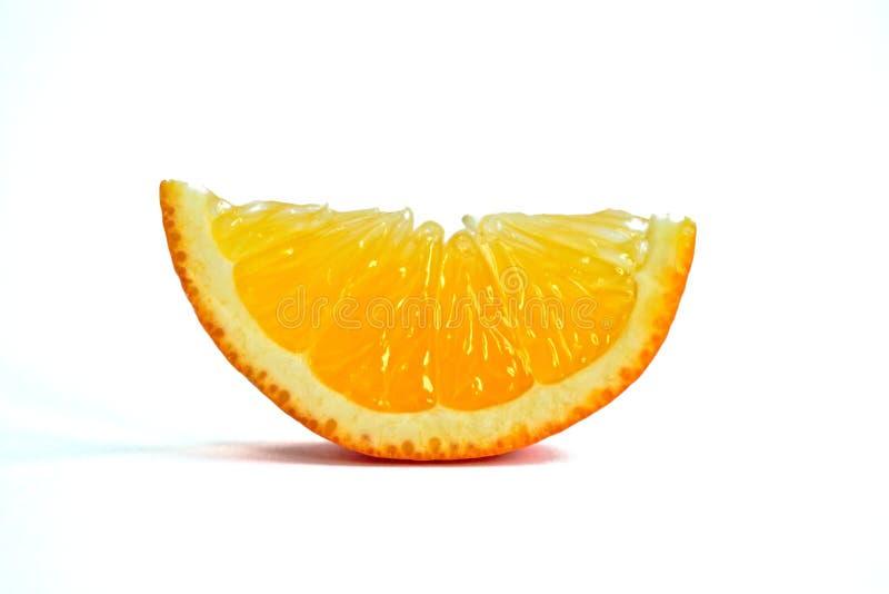 Orange Wedge royalty free stock photography