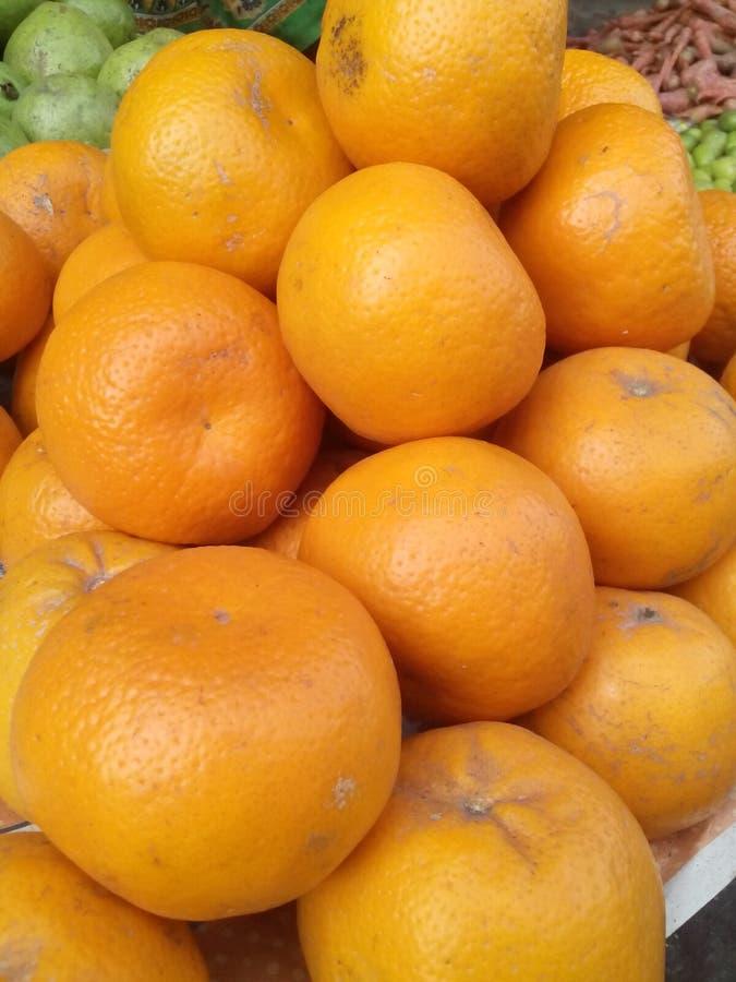 Orange Welt stockfoto