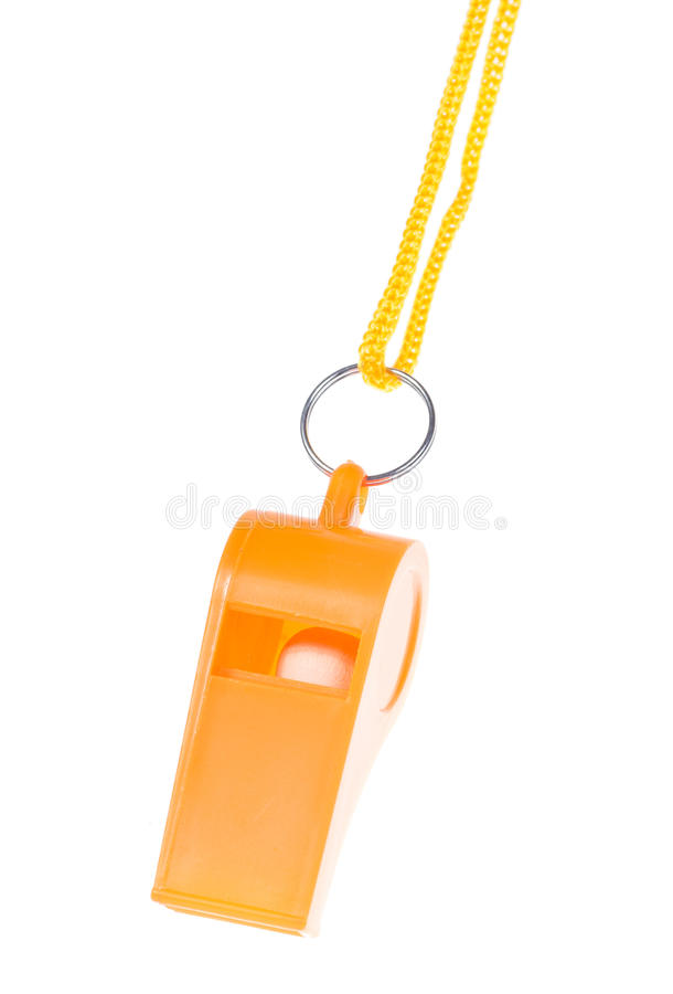 Download Orange Whistle Isolated Royalty Free Stock Images - Image: 34323989