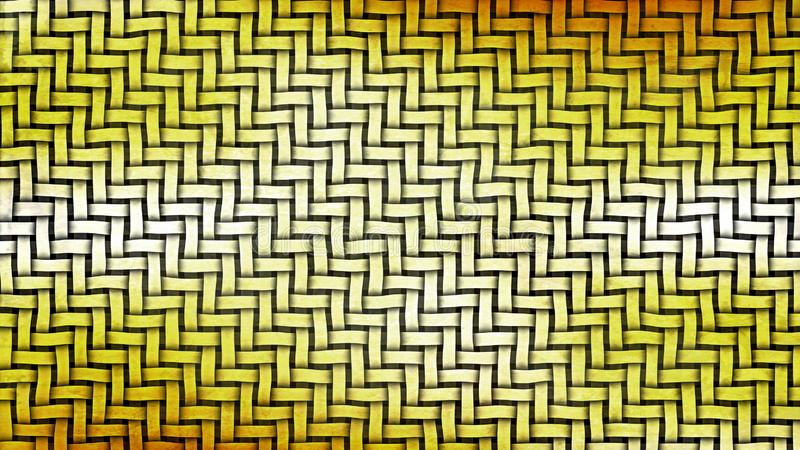 Orange and White Basket Weave Background vector illustration