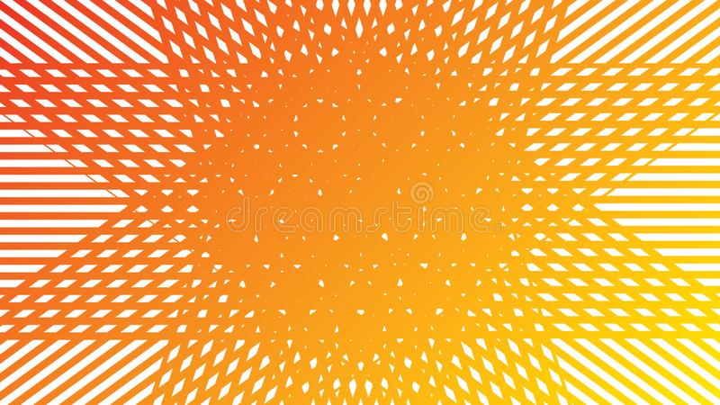 Orange white background vector. Orange white straight lines abstract background vector royalty free illustration