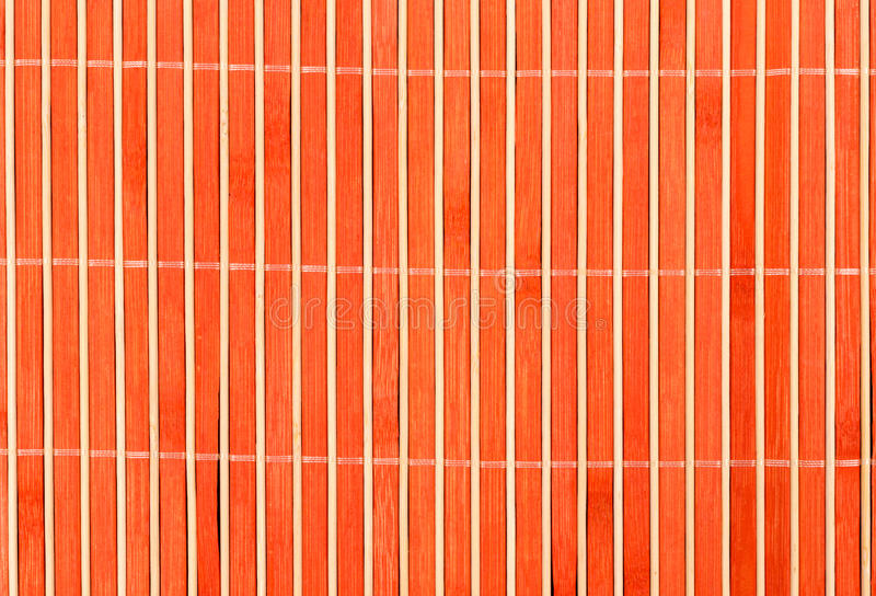 Orange Wood Background Stock Photography