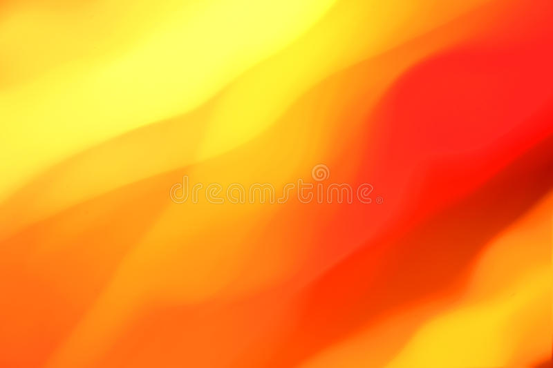 Orange and yellow abstract vector illustration