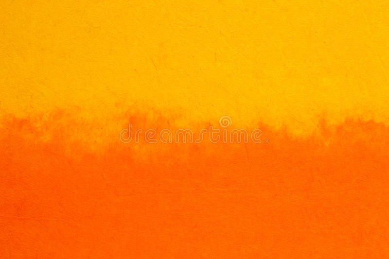 Orange yellow background paper stock photography