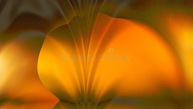 Orange Yellow Leaf Background Beautiful elegant Illustration graphic art design Background. Image stock illustration