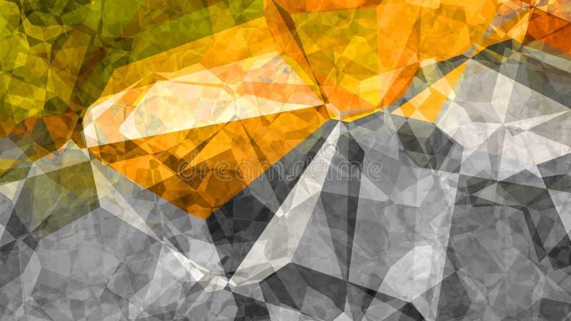 Orange Yellow Leaf Background Beautiful elegant Illustration graphic art design Background. Image royalty free illustration