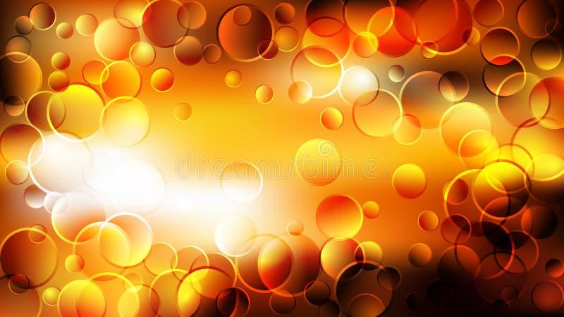 Orange Yellow Light Background Beautiful elegant Illustration graphic art design Background. Image stock illustration