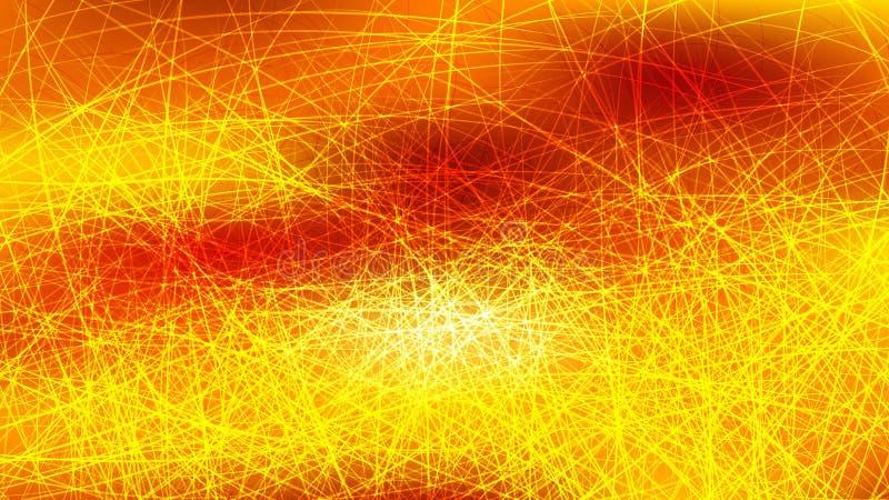 Orange Yellow Line Background Beautiful elegant Illustration graphic art design Background. Image stock illustration